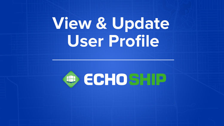 View & Update User Profile