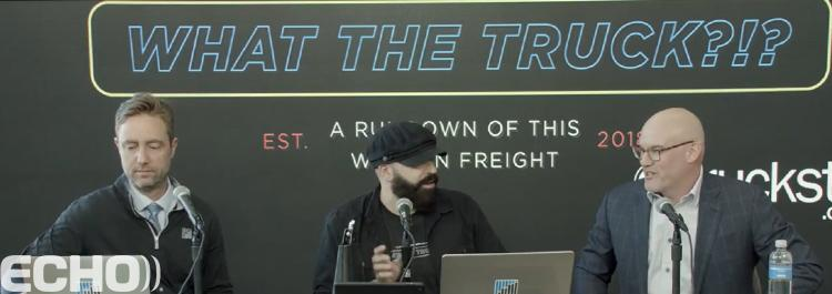 "FreightWaves ""What The Truck?!?"" Podcast Featuring Special Guest Echo CIO, Miles English"